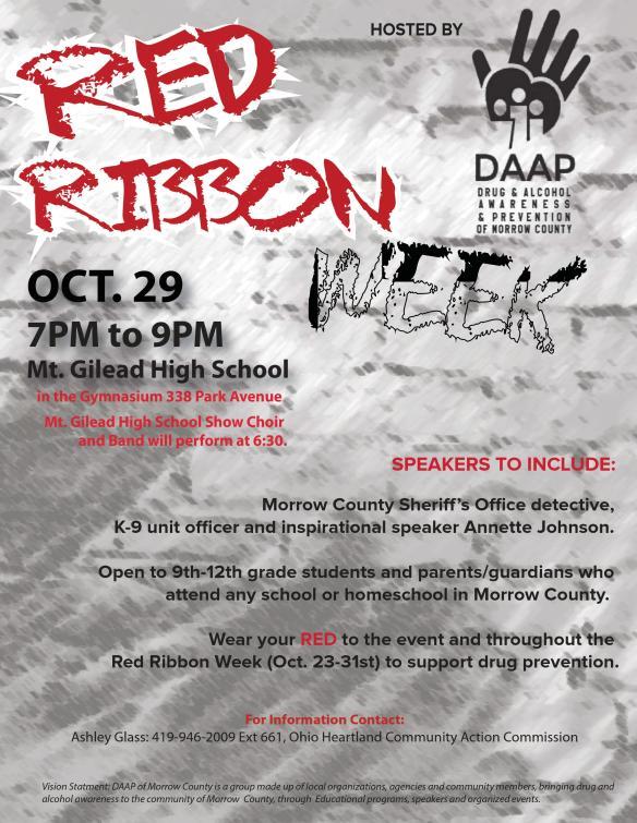 DAAP event flyer